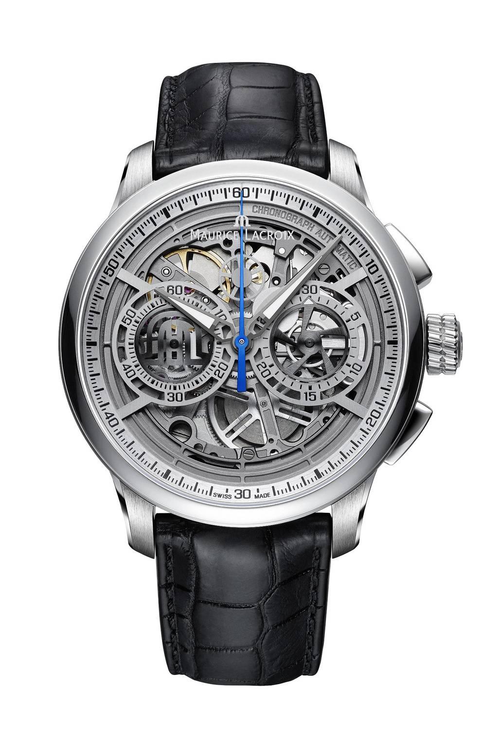 Masterpiece Chronograph Skeleton — MP6028-SS001-001-1